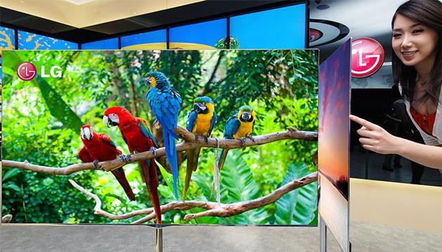 تلویزیون Ultra HD الجی و کسب جایزه مبتکر فناوری جهانی ۲۰۱۳