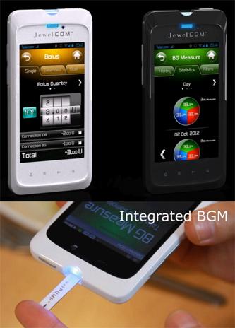 کنترل پمپ خودکار انسولین توسط تلفن هوشمند