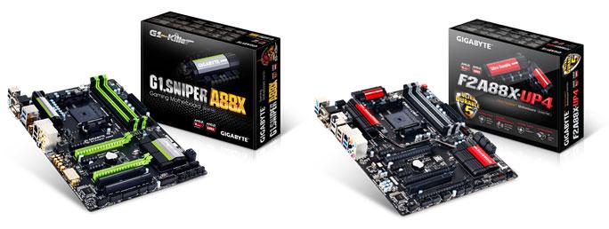 مادربردهای FM2+ A88X با پشتیبانی از پردازنده های AMD