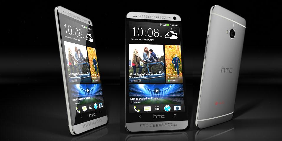 دریافت جایزه بهترین گوشی توسط HTC One