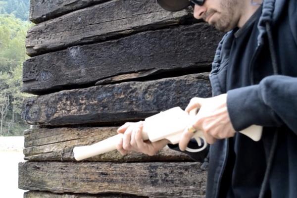 اولین اسلحه ساخته شده توسط فناوری چاپ 3 بعدی