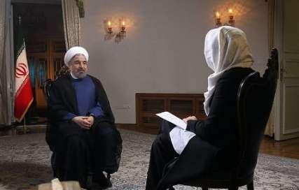 حسن روحاني رييس جمهوري ايران در گفت و گو با شبكه ان.بي.سي آمريكا