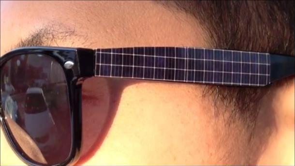 تلفن خود را با عینک آفتابی شارژ کنید