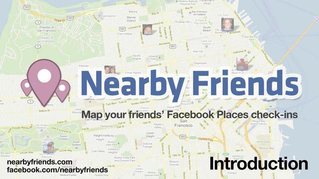 اضافه شدن  Nearby Friends به فیسبوک