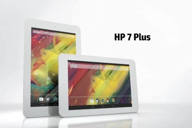 عرضه تبلت ۱۰۰ دلاری HP 7 Plus