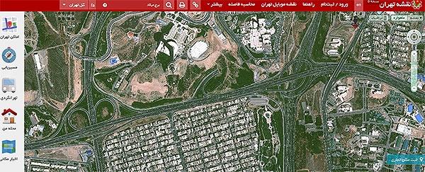شهرداری تهران Street view عرضه کرد