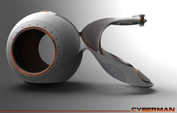 موتورسیکلت حلزونی نسل آینده وسایل نقلیه