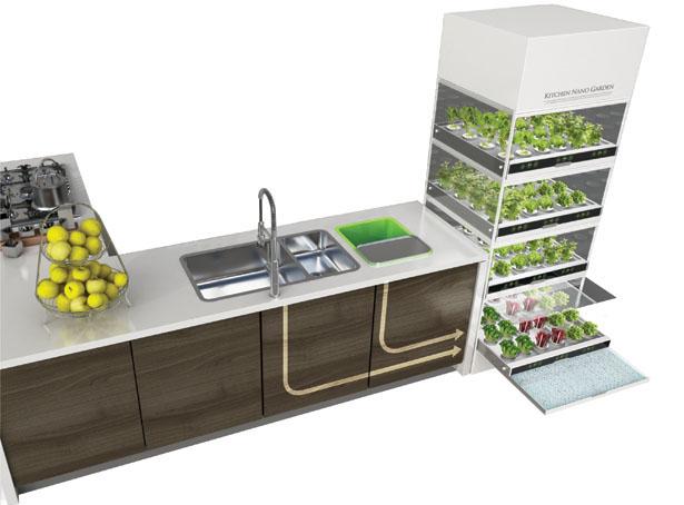 نانو باغ برای آشپزخانه ها