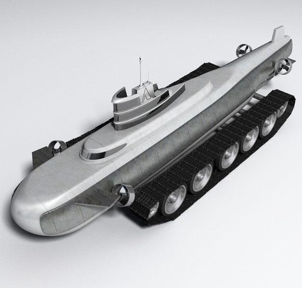 وسیله نقلیه برای زیر آب