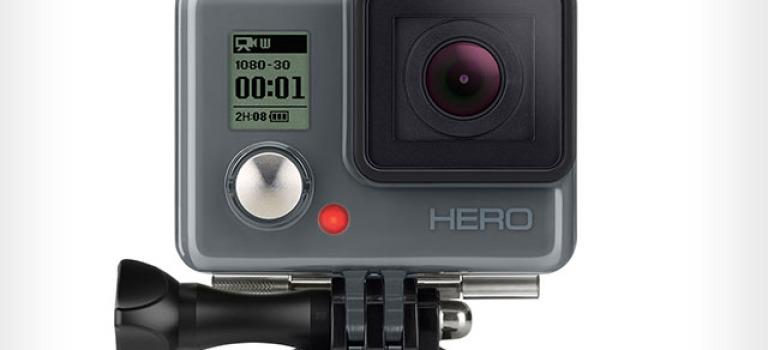 گوپرو مدل ارزان قیمت دوربین دیجیتال HERO را معرفی کرد