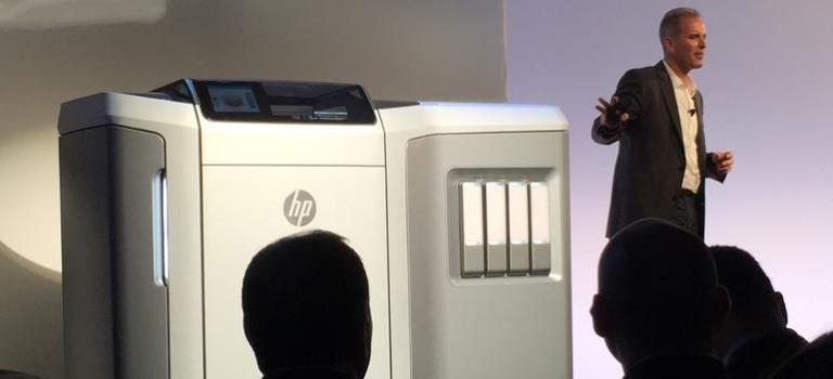 حضور HP در بازار پرینتر های ۳ بعدی با معرفی مولتی جت فیوژن