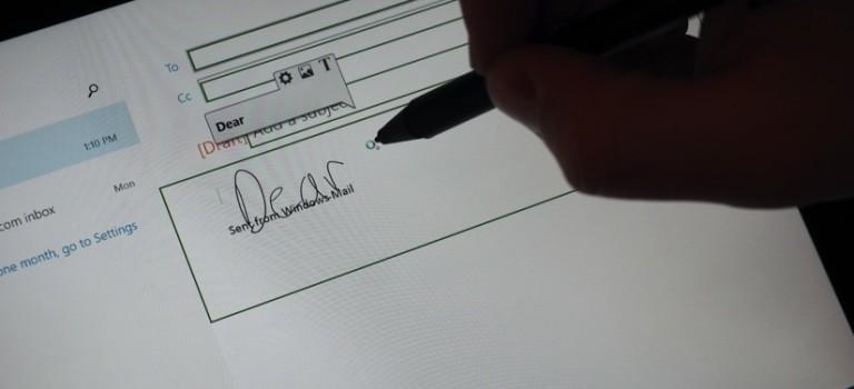 تشخیص دستخط در ویندوز به کمک اپلیکیشن جدید لنوو