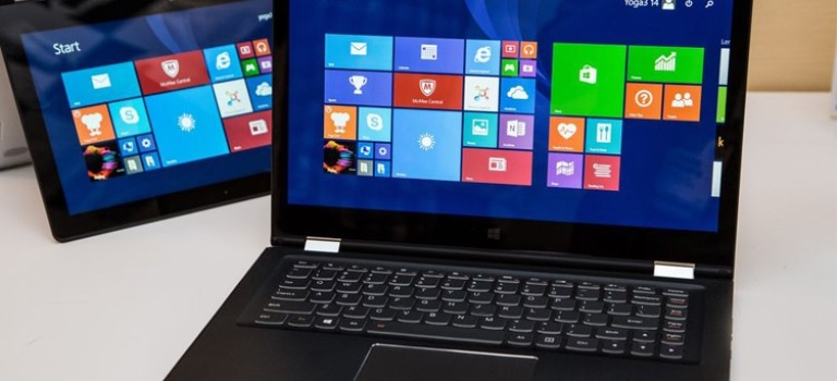 معرفی نمونههای جدید لپتاپهای Yoga 3، ThinkPad Yoga و Flex 3