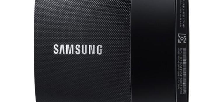 سامسونگ حافظه اکسترنال SSD T1 را معرفی کرد
