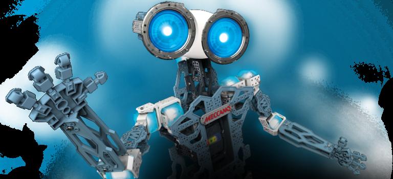 تقلید حرکات و صدای انسان توسط روبات Meccanoid