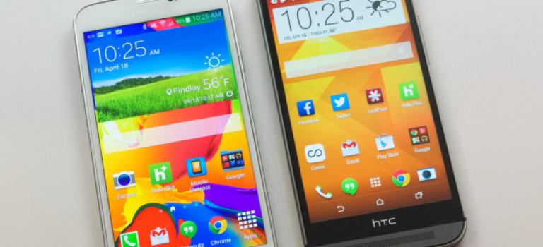 ویژگی هایی در  HTC One M9 هست اما Galaxy S6 و S6 Edge نیست