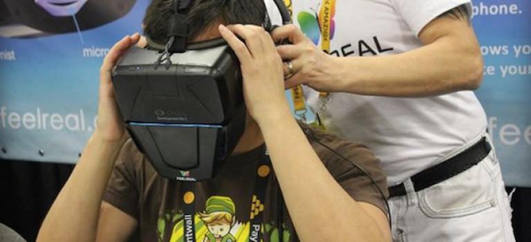 رونمایی از ماسکی که می تواند برای هدست های واقعیت مجازی بو تولید کند
