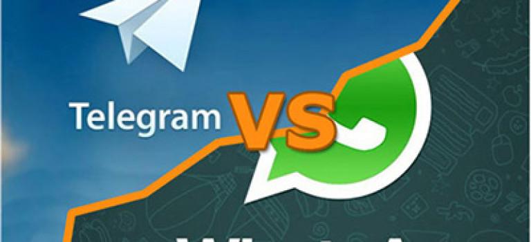 امنیت واتساپ بالاتر است یا تلگرام؟