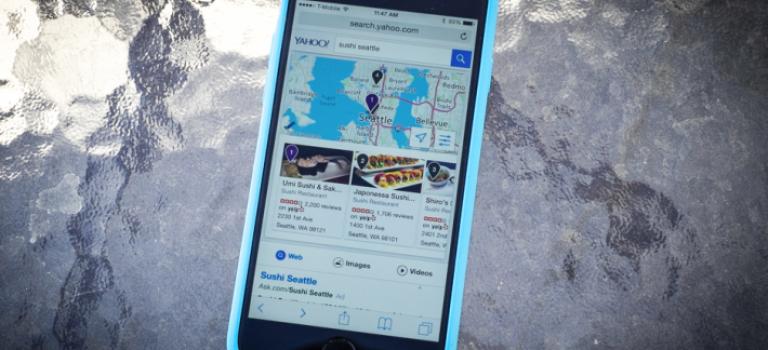 یاهو نسخه موبایل خود را بروزرسانی کرد