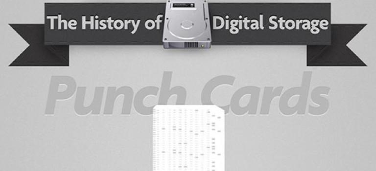 اینفوگرافیک : ذخیرهسازی دیجیتال در گذر زمان