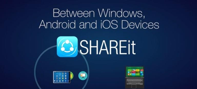 اپلیکیشن SHAREit جادوگری چیره دست در نقل و انتقال داده در اسرع وقت