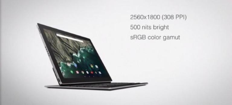 گوگل از تبلت اندرویدی Pixel C پرده برداشت