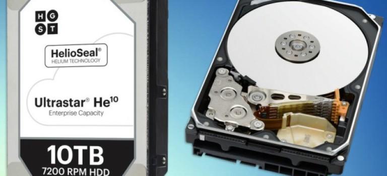 شرکت HGST از هارد دیسک جدید و ده ترابایتی