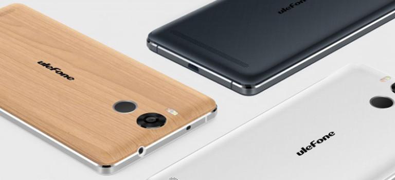 گوشی ۱۸۰ دلاری Ulefone با باتری قوی و بدنه فلزی معرفی شد