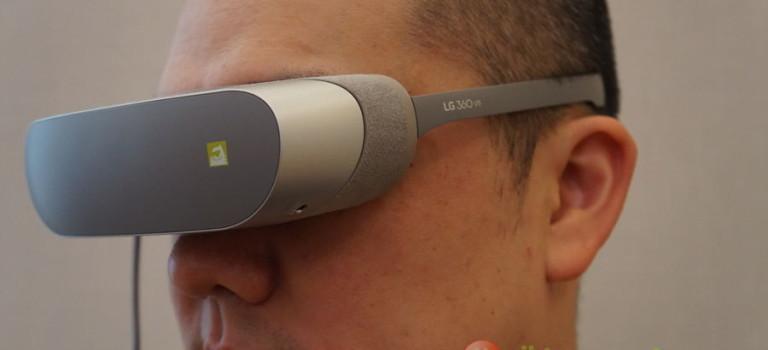 الجی ۳۶۰ VR و الجی ۳۶۰ CAM معرفی شد