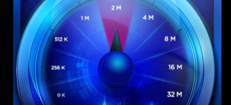 اندازه گیری سرعت اینترنت با Internet Bandwidth Speed Test