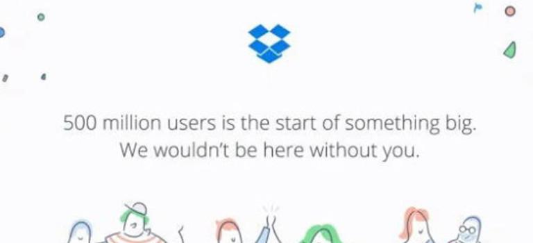 تعداد کاربران دراپ باکس از مرز ۵۰۰ ملیون نفر عبور کرد