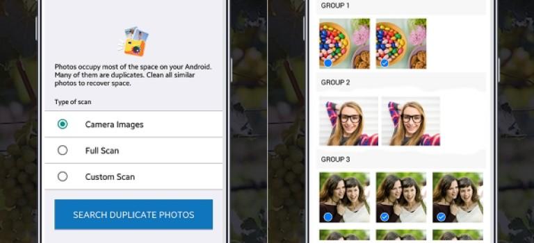 حذف تصاویر تکراری  با اپلیکیشن Duplicate Photos Remover
