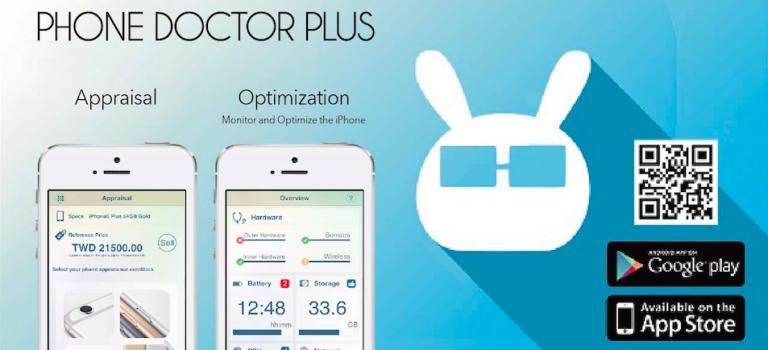 تست سخت افزاری گوشی های آیفون و اندرویدی با Phone Doctor Plus