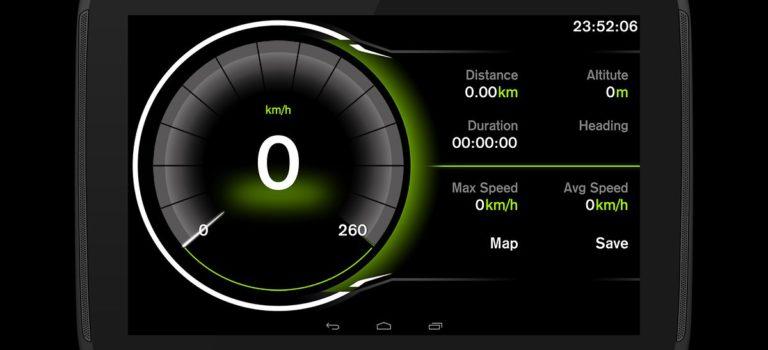 محاسبه سرعت تقریبی با اپلیکیشن Speed View GPS