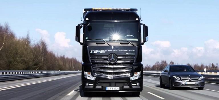 کامیون آکتروس مرسدس بنز و بررسی قابلیت رانندگی خودکار آن در بزرگراههای آلمان