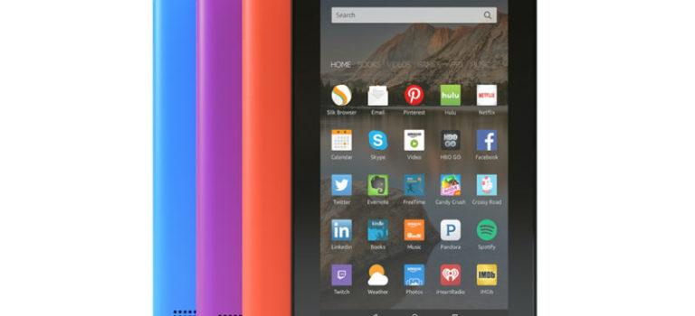 آمازون از نسخه ۱۶ گیگابایتی تبلت فایر به همراه سه رنگ جدید رونمایی کرد