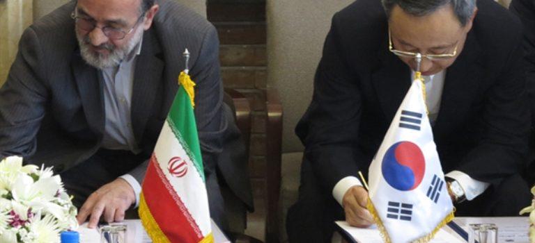 افزایش پهنای باند و امضای تفاهم نامه میان شرکت مخابرات ایران و کره جنوبی