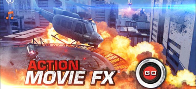 افزودن جلوه های ویژه به ویدئوهای آیفون و آیپد با اپلیکیشن Action Movie FX