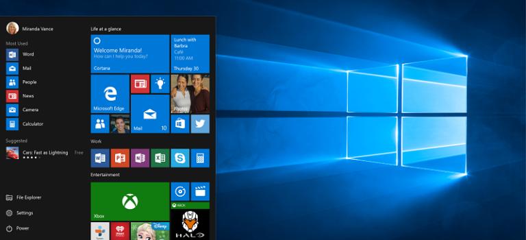 پشتیبانی از سنسور اثر انگشت به ویندوز ۱۰ موبایل اضافه می شود