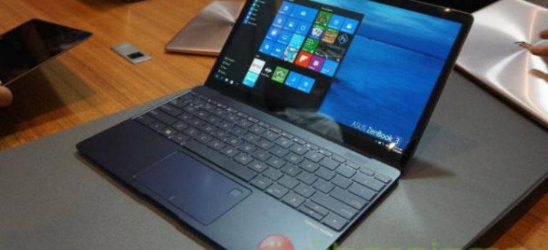 ایسوس لپ تاپ «ذن بوک ۳» مجهز به پردازنده های نسل هفتم اینتل را به برلین آورد