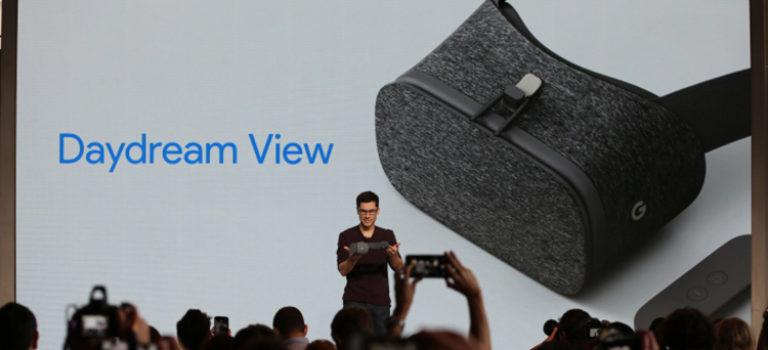 گوگل هدست واقعیت مجازی Daydream View را معرفی کرد