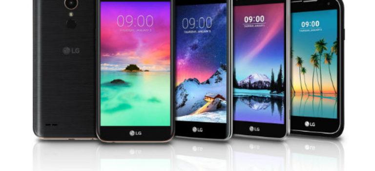 ال جی از Stylus 3 Key و چهار موبایل جدید در سری K محصولات خود رونمایی کرد