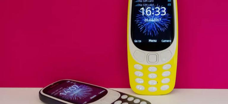 نوکیا ۳۳۱۰ جدید معرفی شد؛ بازگشت اسنیک با گوشی خاطره انگیز
