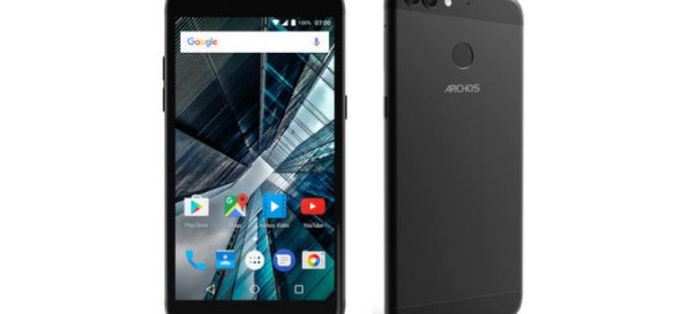 با موبایل های تازه Archos آشنا شوید؛ اقتصادی هایی با دوربین دوگانه و پورت USB C