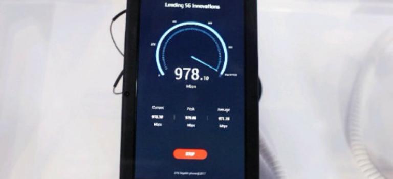 گیگابیت فون از سوی ZTE معرفی شد؛ نخستین موبایل جهان با سرعت دانلود ۱ گیگابیت بر ثانیه