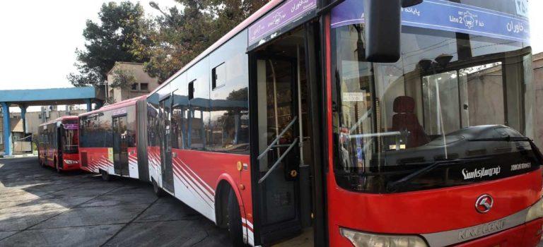 تجهیز اتوبوسهای تهران به اینترنت و کتابخانه دیجیتال