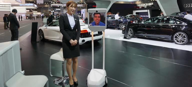ربات حضور از راه دور BeamPro 2 معرفی شد