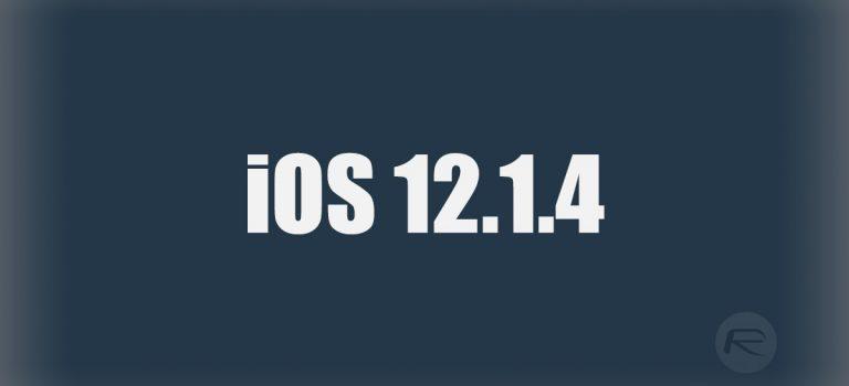 آپدیت iOS 12.1.4 بهمنظور رفع نقص امنیتی فیس تایم، منتشر شد