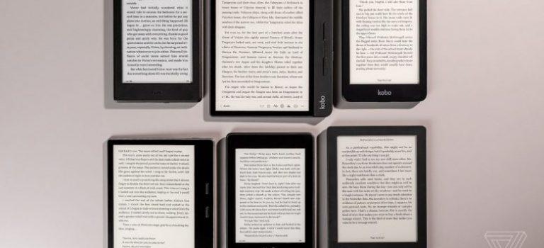 بهترین کتابخوانهای الکترونیکی جهان