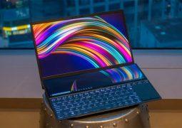 ایسوس لپ تاپ ذن بوک Pro Duo را با دو نمایشگر ۴K معرفی کرد